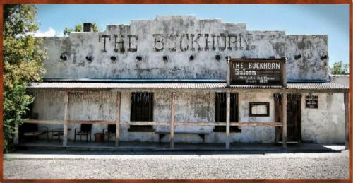 Buckhorn Saloon at Pinos Altos